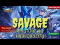 RINGTONE MOBILE LEGENDS - SAVAGE (HQ AUDIO)