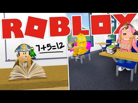Roblox ITA - Le lezioni di Stef a scuola! - W/SpJockey