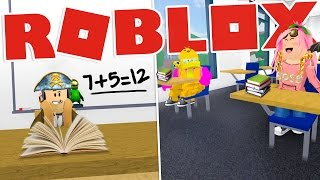 Roblox ENG-Stef lessons at school! -W/SpJockey
