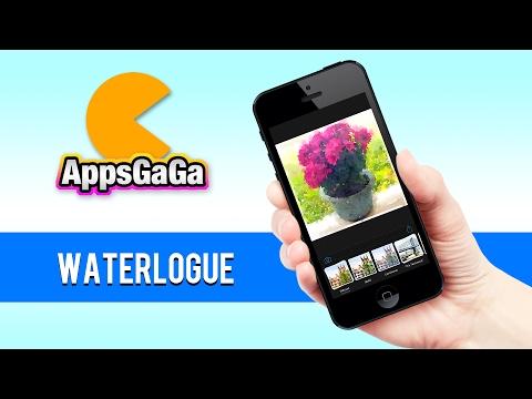 [iPhone] Waterlogue:把您的照片變成水彩畫