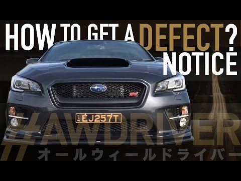 How to get your very own Defect Notice (in 5 easy steps)