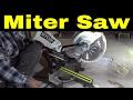 Ryobi 10 Inch Miter Saw-Unboxing And Setup