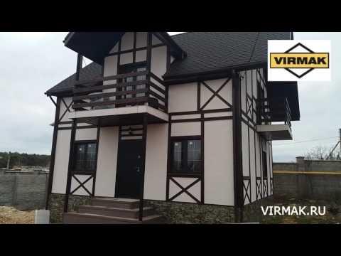 Дом из СИП панелей с ЦСП от компании ВИРМАК в г. Севастополе