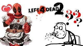 Left 4 Dead 2 - Deadpool French Maid Outfit Mod (+2 Weapons!)