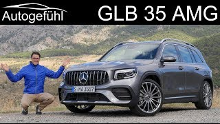 Mercedes GLB 35 AMG FULL REVIEW - performance SUV between GLA and GLC - Autogefühl