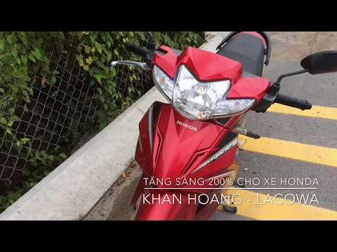 Tăng Sáng 200% Cho Bóng đèn Zin Xe Honda, Mẹo Hay Không Cần độ Chế