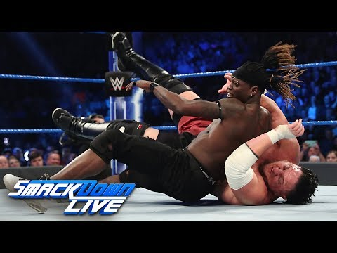 R-Truth vs. Rey Mysterio vs. Samoa Joe vs. Andrade - U.S. Title Match: SmackDown LIVE, Mar. 5, 2019