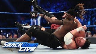 R-Truth vs. Rey Mysterio vs. Samoa Joe vs. Andrade - U.S. Title Match: SmackDown LIVE, Mar. 5, 2019