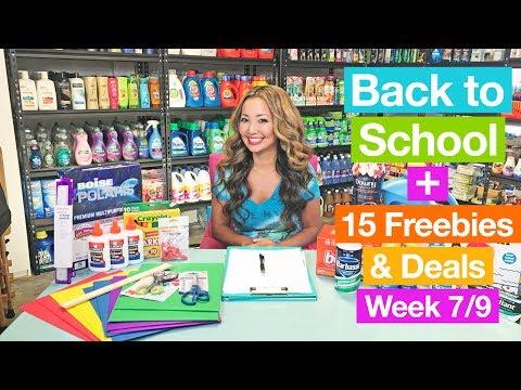 ★ Back to School Deals: $0.01 School Supplies + 15 Target CVS Coupon Deals (Week 7/9-7/15)