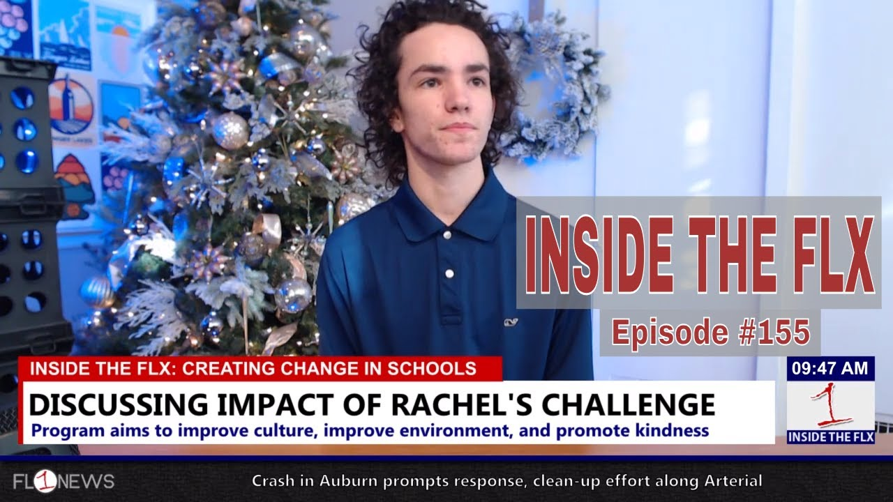 Discussing Rachel's Challenge as program comes to Seneca Falls in January .::. Inside the FLX 12/20/18