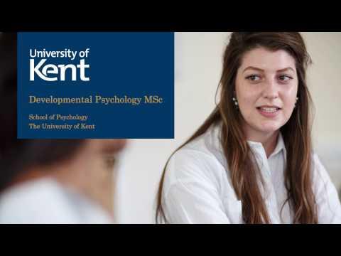 Developmental Psychology MSc at the University of Kent