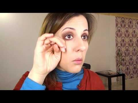 Smokey Eyes Castanho por Ana Vieira