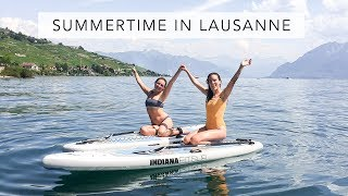 The Best Summertime Activities in Lausanne | Sofia Clara