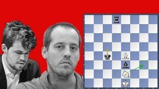 Mate in 58 - Vallejo Pons vs Carlsen   Grenke Chess Classic 2019