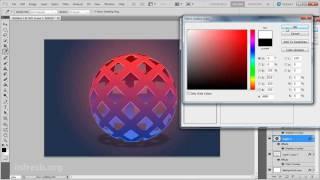 простой 3D шар в Photoshop