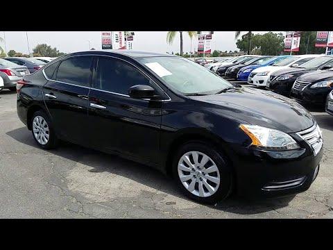 2015 Nissan Sentra San Bernardino, Fontana, Riverside, Palm Springs, Inland Empire, CA 36267A