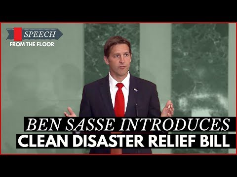 Ben Sasse Introduces Clean Disaster Relief Bill