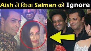 Aishwarya Rai Bachchan Badly Ignored Salman Khan on Sonam's Reception  Final Cut News