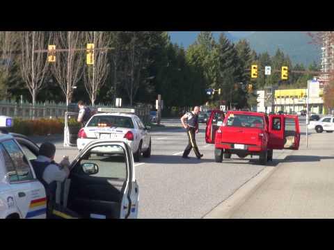 Paintball Gun Police Takedown At Gunpoint Coquitlam City BC Canada