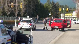 Paintball gun police take down in Coquitlam All Rights Reserved Copyright bcnewsvideo