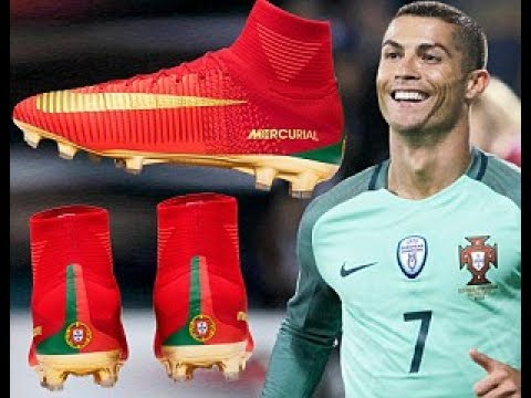Sepatu Baru Cristiano Ronaldo Portugal ○ Nike Mercurial Superfly V 2017