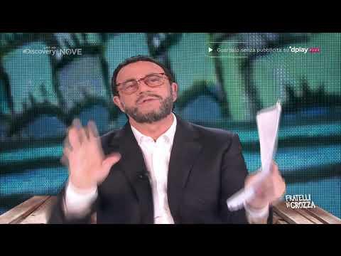 Crozza Salvini 'Non posso limonare con una signora che starnutisce?'