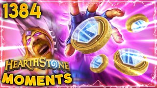 Vargoth IS OBSESSED WITH COINS!!! | Hearthstone Daily Moments Ep.1384