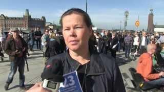250 aktivister gjorde Torsdagsaktion XL massiv dag 923 vid Rosenbad för ett tillgängligt samhälle