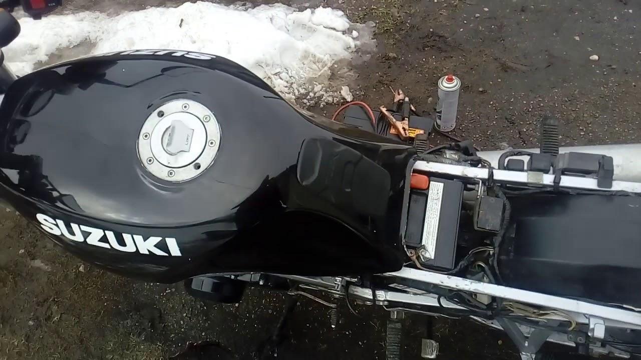 Suzuki gs500e backfire through carb after restoration
