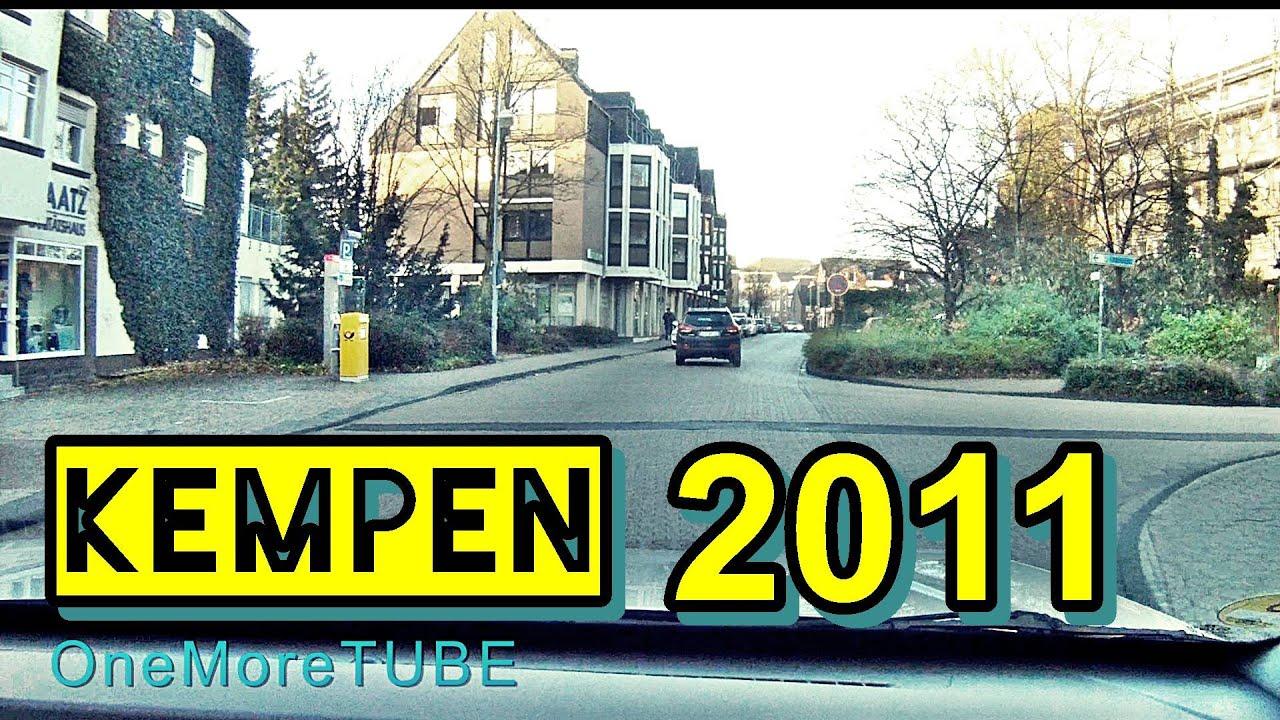 Zeitraffer KEMPEN Weihnachten 2011 ohne Schnee ohne Klosterhof ...
