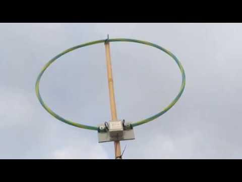 Tecsun S8800 + MLA30 Loop Antenna Tuning 80m SSB