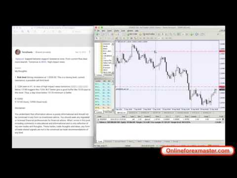 Webinar 22 Sep '16: Managing Forex Trades with Position Size Calculator on MT4