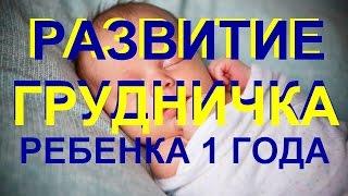 Развитие новорожденного, грудничка, ребенка первого года жизни