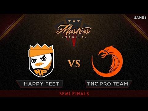Happy Feet vs TNC Pro Team | The Manila Masters | Bo3 | PH Coverage | Game 1