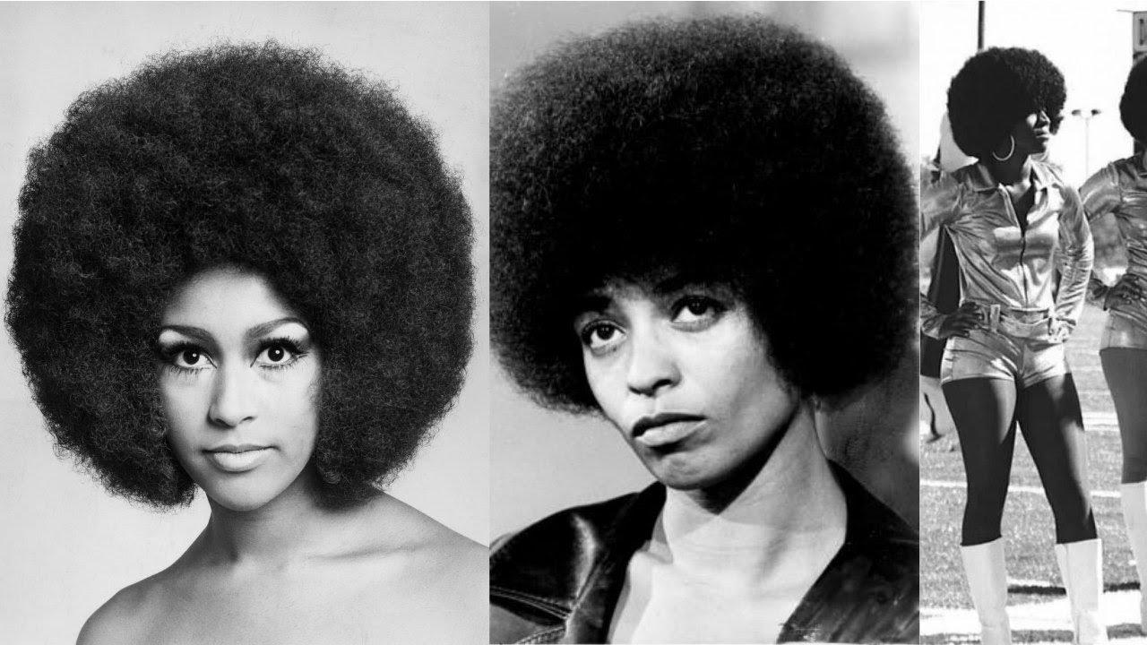 Natural Hair Representation Through The Decades 60s 70s Youtube