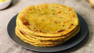 Aloo Paratha | Easy aloo paratha recipe without stuffing