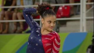 Lauren Hernandez 2016 Olympics QF FX