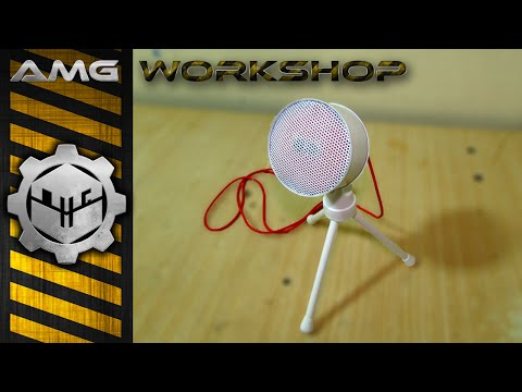 Diy stereo electret microphone