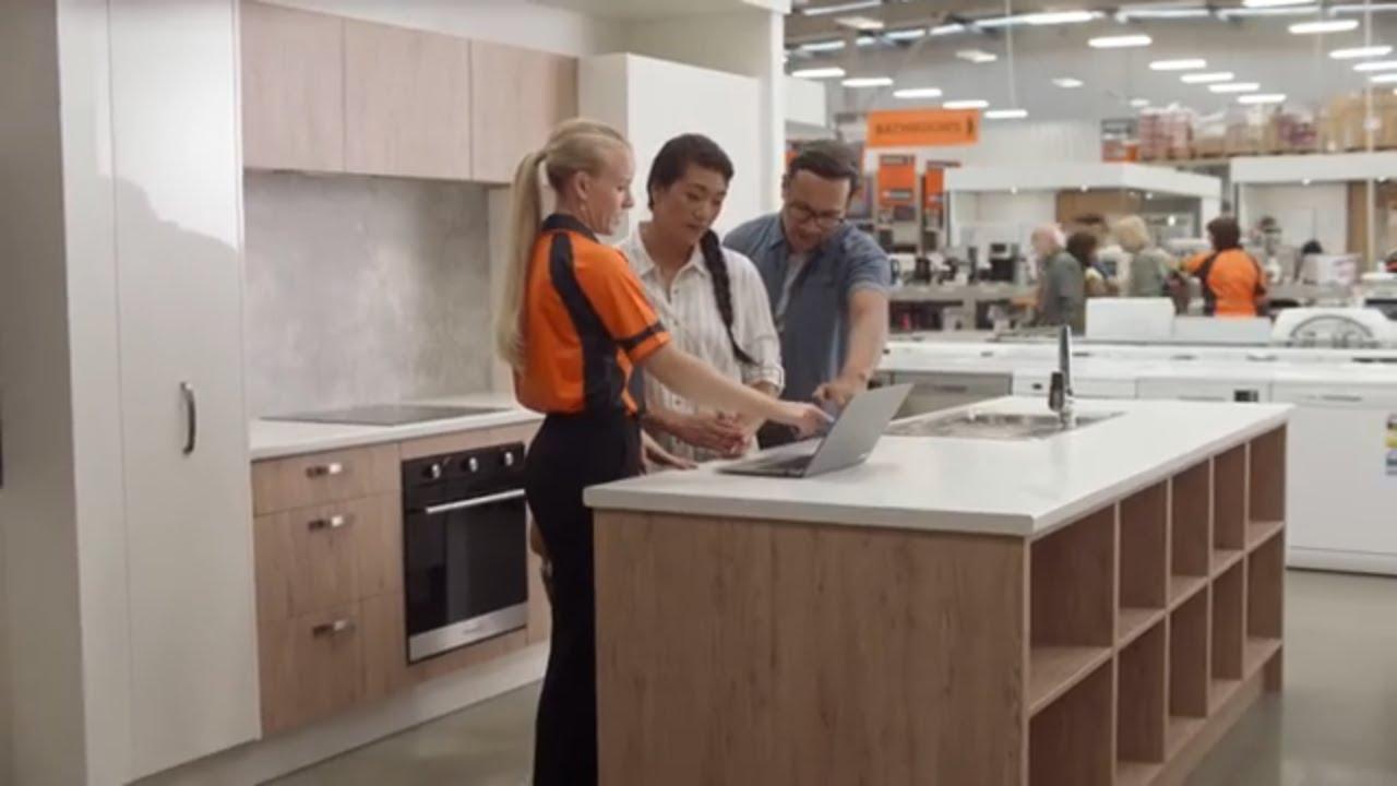 Create your dream kitchen | Mitre 10 Kitchen Ad 2020 – 15sec