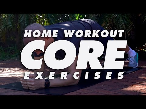 At Home Core & Abs Workout Exercises | In The House With Team MassiveJoes