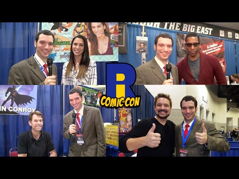 Rhode Island Comic Con 2015 - Celebrity Interviews & More!
