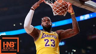 Los Angeles Lakers vs Houston Rockets 1st Half Highlights | 10.20.2018, NBA Season