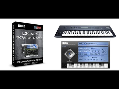 Lead Sounds Pack on Korg Legacy Digital Edition ( wavestation ) by  Synthcloud