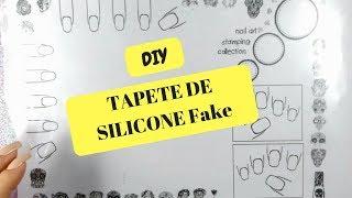 FAÇA SEU PRÓPRIO TAPETE DE SILICONE (Fake) COM APENAS R$4,00 | DIY#2