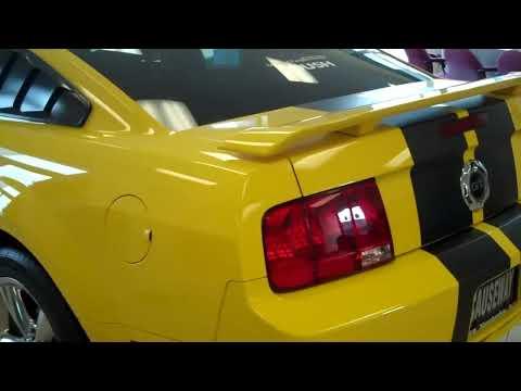 2006 yellow mustang gt