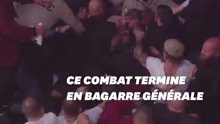 Ce combat de MMA entre McGregor et Nurmagomedov a fini en bagarre générale