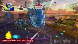 Tornado Outbreak video game exclusive screenshot trailer Xbox 360 PlayStation 3 Nintendo Wii