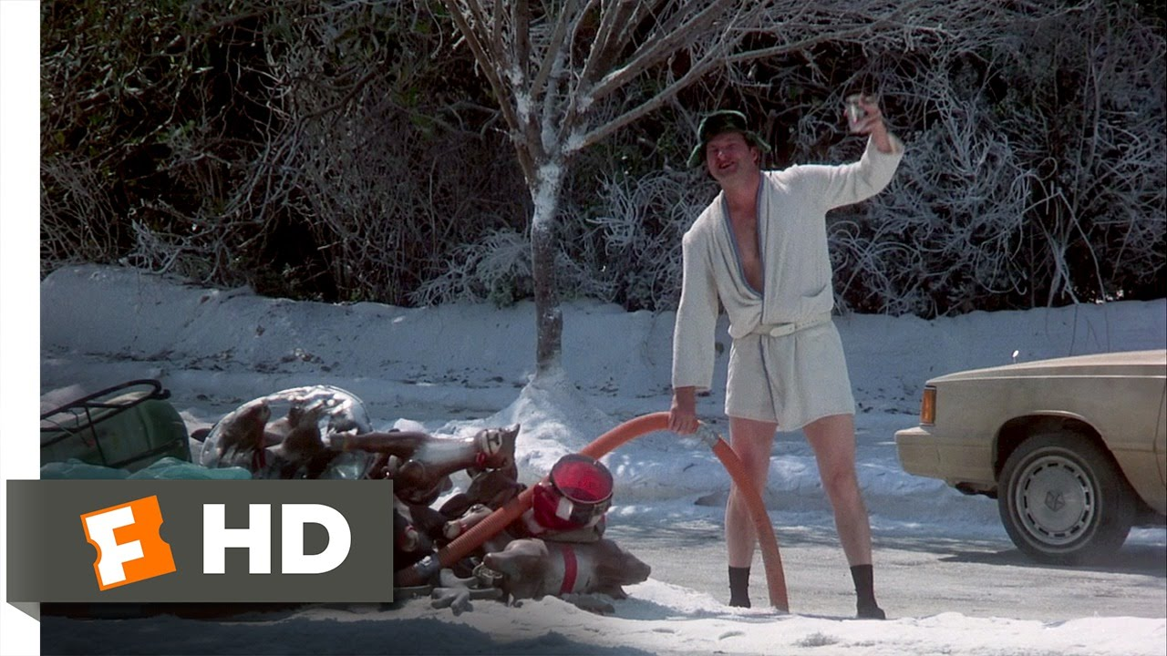 christmas vacation 710 movie clip eddies sewage 1989 hd youtube