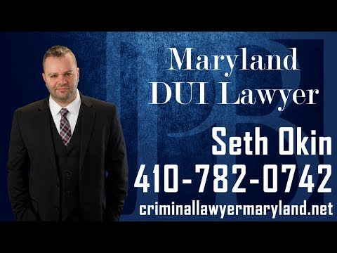 MD criminal defense attorney Seth Okin talks about the punishments for a first DUI offense in Maryland.