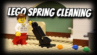 Lego Spring Cleaning